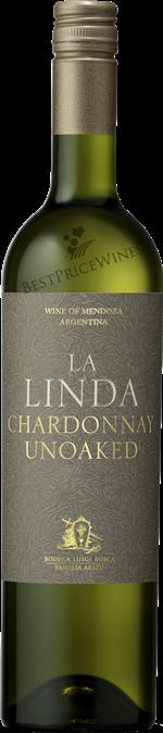 La linda Mendoza Chardonnay Unoaked